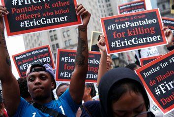 Protestors; Eric Garner; Daniel Pantaleo