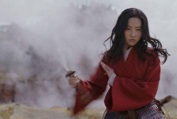 Liu Yifei as Hua Mulan in