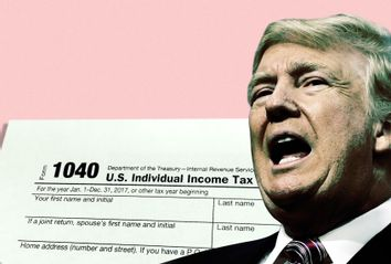 Donald Trump; Taxes