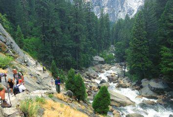 Yosemite; hiking