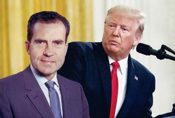 Donald Trump; Richard Nixon