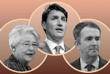 Justin Trudeau; Kay Ivey; Ralph Northam
