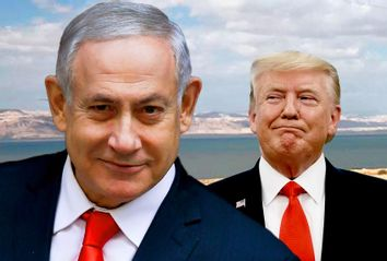 Donald Trump; Benjamin Netanyahu