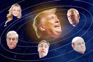 Donald Trump; Stormy Daniels; Robert Mueller; Joe Biden; Rudy Giuliani; Michael Cohen