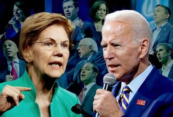 Elizabeth Warren; Joe Biden; Cory Booker; Amy Klobuchar; Pete Buttigieg; Kamala Harris; Bernie Sanders; Julian Castro; Beto O'Rourke; Andrew Yang