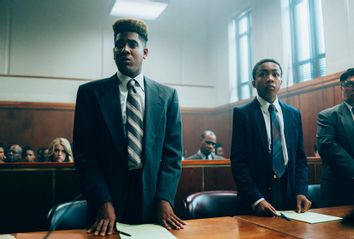 Jharrel Jerome; Asante Blackk; Netflix; When They See Us