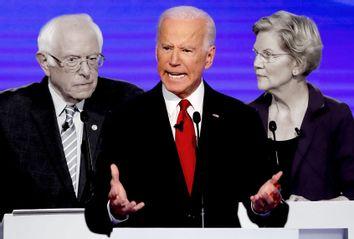 Joe Biden; Bernie Sanders; Elizabeth Warren