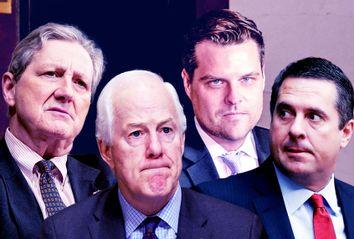 Devin Nunes; Matt Gaetz; John Cornyn; John Kennedy
