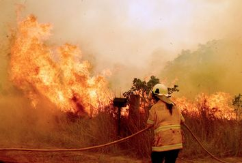Australia; Wildfire