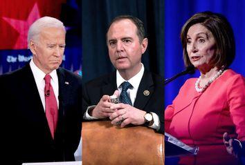 Joe Biden; Adam Schiff; Nancy Pelosi