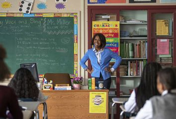 A Black Lady Sketch Show; Cool Handshake Teacher Needs A Win