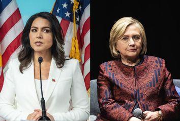 Tulsi Gabbard; Hilary Clinton
