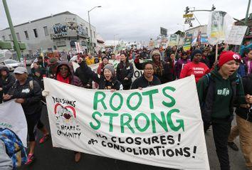 Oakland Teacher's Strike