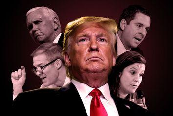 Donald Trump; Devin Nunes; Jim Jordan; Mike Pence; Elise Stefanik