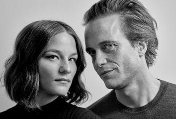 Valerie Pachner and August Diehl