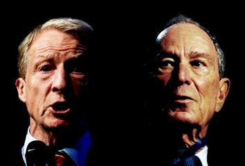 Michael Bloomberg; Tom Steyer
