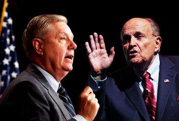Lindsey Graham; Rudy Giuliani