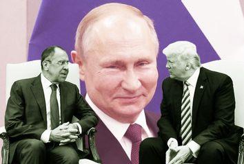 Donald Trump; Sergei Lavrov; Vladimir Putin