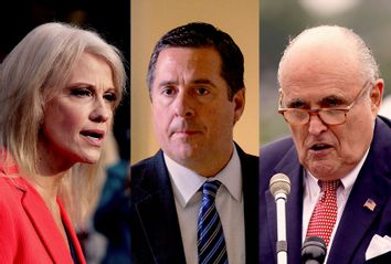 Kellyanne Conway; Devin Nunes; Rudy Giuliani