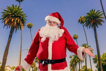 Santa Claus; Los Angeles