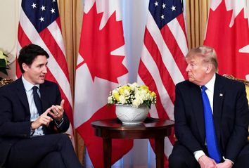 Donald Trump; Justin Trudeau