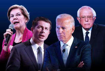 Elizabeth Warren; Pete Buttigieg; Joe Biden; Bernie Sanders