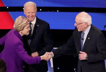 Elizabeth Warren; Bernie Sanders; Joe Biden