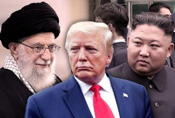 Ayatollah Ali Khamenei; Donald Trump; Kim Jong Un