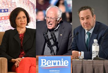 Jennifer Rubin; David Frum; Bernie Sanders