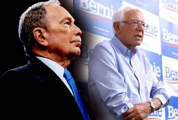 Michael Bloomberg; Bernie Sanders