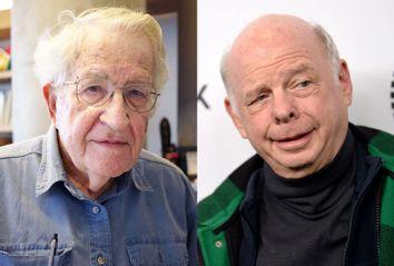 Shawn Wallace and Noam Chomsky