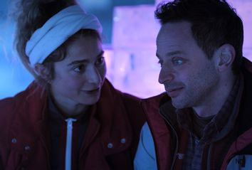 Alexi Pappas and Nick Kroll;
