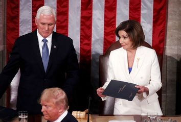 State of the Union; Nancy Pelosi; Donald Trump; Mike Pence