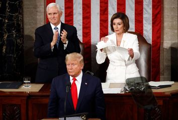 Nancy Pelosi; Donald Trump; Mike Pence; State Of The Union
