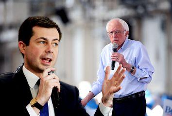 Bernie Sanders; Pete Buttigieg