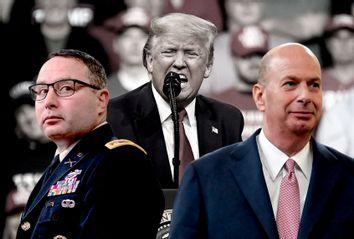 Alexander Vindman; Gordon Sondland; Donald Trump