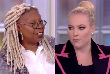 Whoopi Goldberg; Meghan McCain; The View