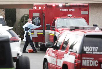 COVID19 ambulance staff nursing home