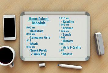 Home School Daily Schedule