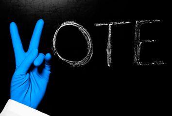 Vote; Latex Glove