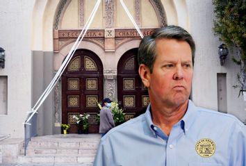 Brian Kemp; Closed Church
