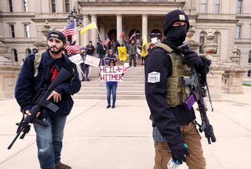 Michigan; Protest; Guns