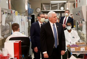 Mike Pence; COVID-19