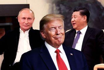 Donald Trump; Xi Jinping; Vladimir Putin