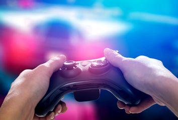 Gamer concept image