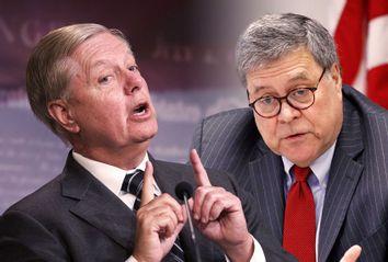 William Barr; Lindsey Graham