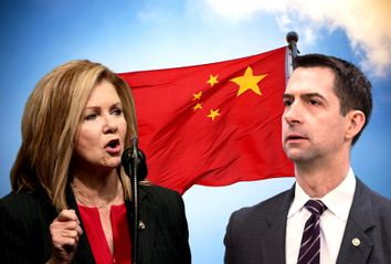 Tom Cotton; Marsha Blackburn; China