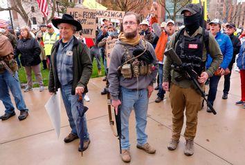 Michigan; Protest; Lockdown