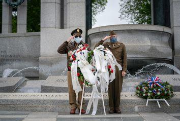 V-E Day; veterans; World War II