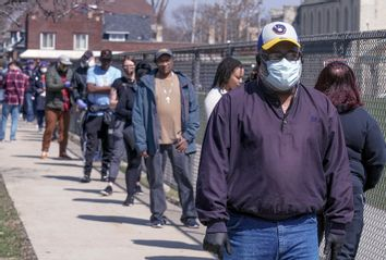 Voting; Wisconsin; Coronavirus